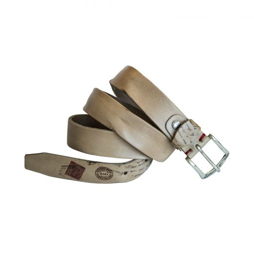 Cintura Grigia con Cartolina di Artiglieria Fiorentina
