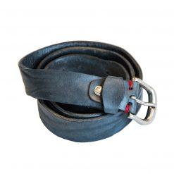 Cintura in Vera Pelle Blu di Artiglieria Fiorentina