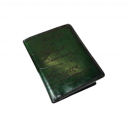 TORNABUONI Verde -Portafoglio Unisex Piccolo (tipo Rossini)